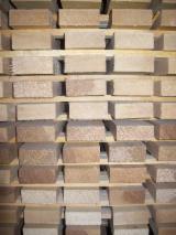 Hardwood  Sawn Timber - Lumber - Planed Timber PEFC - Squares, Alder (European Common Alder, Black Alder) - Alnus Glutinosa, PEFC
