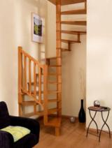 Puertas, Ventanas, Escaleras - Maderas duras (Europa, Norteamérica), Escaleras, Haya (Europa)