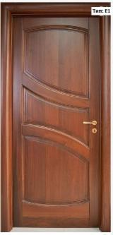 Doors, Windows, Stairs Spruce Picea Abies - Whitewood - Solid wood interior door IVM004