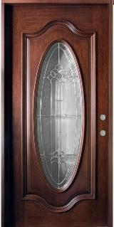 Двері, Вікна, Сходи - Листяні тверді (Європа, Північна Америка), Двері, Горіх (Європейський)