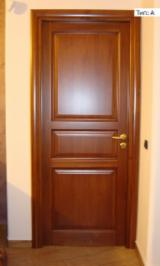 Doors, Windows, Stairs Spruce Picea Abies - Whitewood - Solid wood interior door IVM012