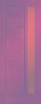 Doors, Windows, Stairs Oak European - Solid wood interior door IVM022