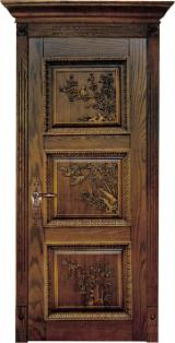 Buy And Sell Wood Doors, Windows And Stairs - Join Fordaq For Free - Solid wood interior door IVM023