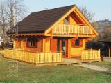 Wood Houses - Precut Timber Framing Pine Pinus Sylvestris - Redwood For Sale France - Wooden log house prefabricated