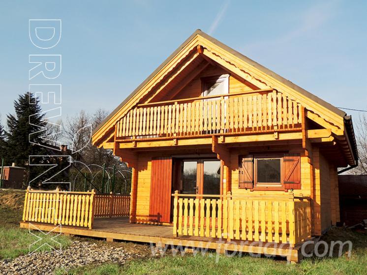 Maison en madriers bois massif prefabrique for Prefabrique maison