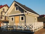 Wood Houses - Precut Timber Framing Spruce Picea Abies - Whitewood Poland - Wooden log house prefabricated