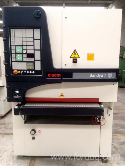 Calibrating---finish-sanding-machine-SCM-Sandya-7-S-M2