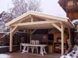 Wholesale Wood Pergola - Arbour - Spruce (Picea abies) - Whitewood, Pergola - Arbour