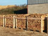 Energie- Und Feuerholz Eiche - Eiche Brennholz Gespalten