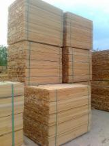 Hardwood  Sawn Timber - Lumber - Planed Timber PEFC - Squares, Beech (Europe), PEFC