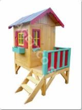 Produse Si Decoratiuni Gradina Din Lemn En Gros - Casuta pentru copii, Model FRG KIDS 5