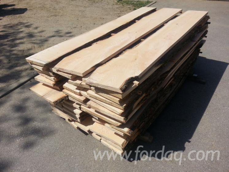 White-ash---unedged-boards---planks--