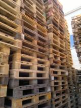 Buy Or Sell Wood Moulded Pallet Block - used strong 1000x1200 one way bottom perimeter pallets