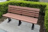 Garden Products - Garden bench made by WPC materials
