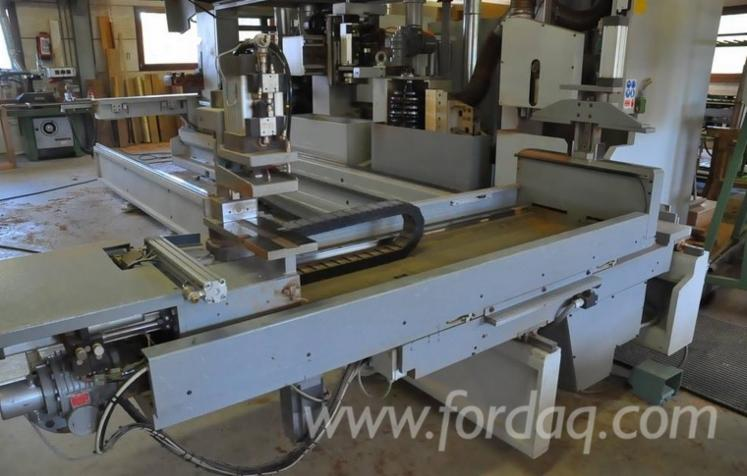 Used-angular-window-machining-centre-for