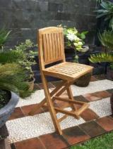 Garden Furniture Teak - Deluxe Bar Chair