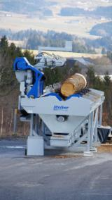 Used 1st Transformation & Woodworking Machinery Austria - Slicing - Cleaving - Chipping - Debarking, Debarker, Stoiber