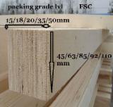 Gelamineerd Fineerhout (LVL) Eisen - Poplar construction LVL, Poplar, pine