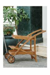 Garden Furniture Teak - Garden Trolley