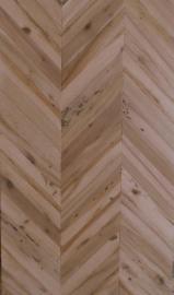 Wholesale  Three Strip Wide - Briccola (oak from Venice Lagoon) Herringbone panel
