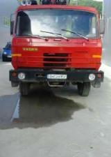 Oprema Za Šumu I Žetvu Kamion Za Prevoz Dužih Stabala - Kamion Za Prevoz Dužih Stabala Tatra Polovna 1998 Rumunija