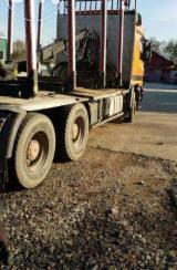 null - Kamion Za Prevoz Dužih Stabala Mercedes Polovna 2003 Rumunija