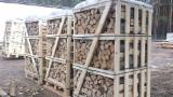 Firelogs - Pellets - Chips - Dust – Edgings All Specie - Firewood cleaved (split firewood) from belarus / biofuel / wood / firewood Brennholz gespalten/Brennholz / split firewood / cleaved firewood