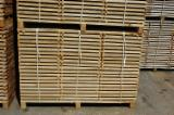 Hardwood  Sawn Timber - Lumber - Planed Timber PEFC - Strips, Oak (European), PEFC