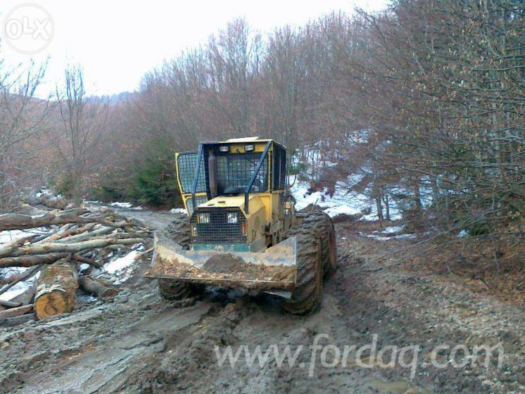 Used-2004-TAF-TAF-D1004-Perkins-105-cp-Forest-Tractor-in