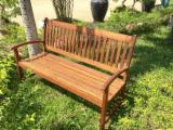 Garden Furniture Teak - BEST PRICE from Factory in Vietnam - outdoor leisure furniture bench - binh dinh bench - vietnam furniture manufacturer bench