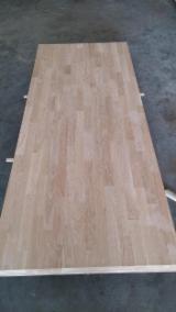 null - 1 Schicht Massivholzplatten, Eiche
