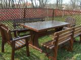 Garden Furniture - Traditional Fir (Abies Alba) Garden Sets Jud. Gorj Romania