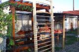 ISO-9000 Certified Garden Products - ISO-9000 Fir (Abies Alba, Pectinata) Garden Wood Tile from Romania