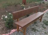 Garden Benches for sale. Wholesale exporters - Traditional Fir (Abies Alba) Garden Benches Jud. Gorj Romania