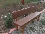 Garden Benches for sale. Wholesale exporters - Traditional Fir (Abies Alba, Pectinata) Garden Benches Jud. Gorj in Romania