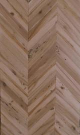 Buy Or Sell  One Strip Wide Oak European - Briccola (oak from Venice Lagoon) Herringbone panel