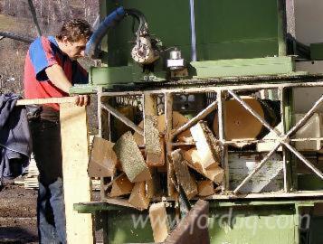 Gewerblicher Handel Buche Brennholz Gespalten Rumänien