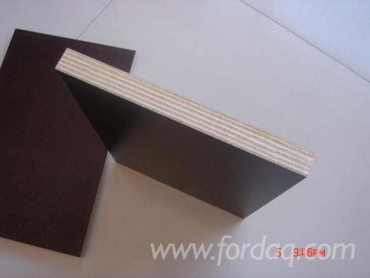 Film-faced-plywood-Brown-Black