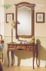 Living Room Furniture Traditional - Console Table With Mirror