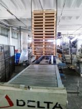 Used 1st Transformation & Woodworking Machinery For Sale - Used pallet line for sale