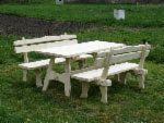 Garden Furniture - Contemporary Spruce (Picea Abies) Garden Sets Harghita Romania