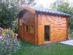Дерев'яні Будинки - Ангар - Хатина, Ялина - Біла