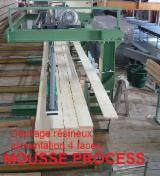 Laubholz  Blockware - Unbesäumtes Holz   Frankreich - Fordaq Online Markt Transportieren, Sortieren, Lagern, Stapelanlage, MOUSSE PROCESS