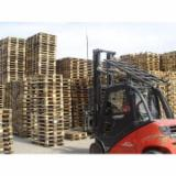 Pallets – Packaging Spruce Picea Abies - Whitewood - Euro Pallet - Epal, Recycled - Used in good state