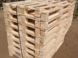Wholesale Wood New Spruce Picea Abies - Whitewood - One time use pallets