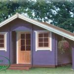 Casute De Gradina - case din lemn