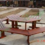 Country Garden Furniture - Country Spruce (Picea Abies) Garden Sets Romania