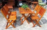 luxury style, best price from factory - acacia bistro set - export company vietnam bistro set - teak outdoor furniture bistro set