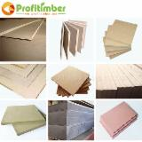 Engineered Panels China - Factory Provides Medium Density Fibreboard