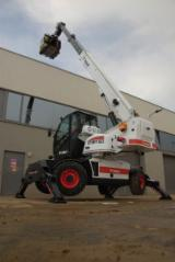 New 1st Transformation & Woodworking Machinery Romania - Transport/ Sorting/ Storage, Telescope Stacker, Bobcat